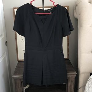 Banana Republic Black Romper
